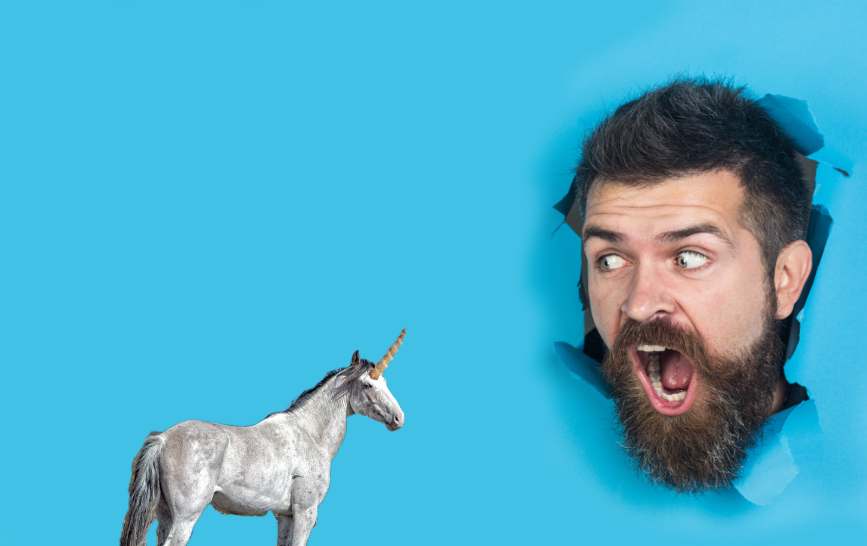 finding career happiness like finding a unicorn?